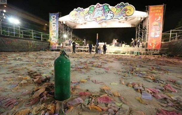 Взрыв на Тайване: в стране вводят запрет на цветной порошок на мероприятиях