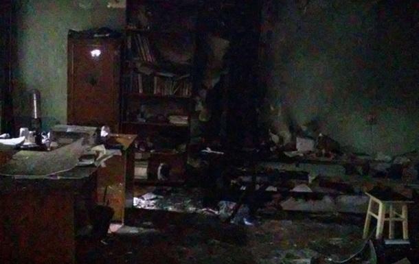 В Херсоне подожгли офис  Свободы