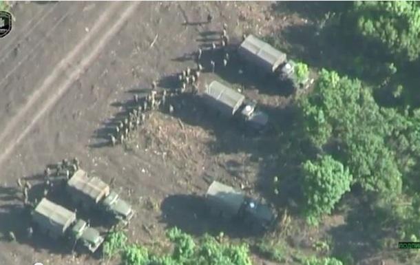 Аэроразведка обнаружила базу сепаратистов на линии фронта