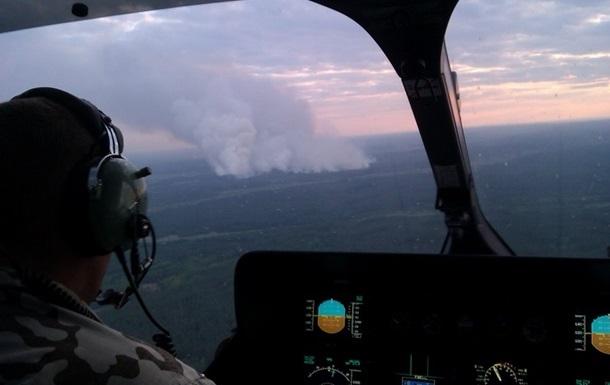 Пожар под Чернобылем: Россия предлагает помощь в тушении