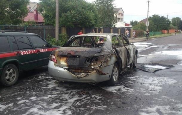 В Луцке на ходу взорвалась машина: пострадала женщина-водитель