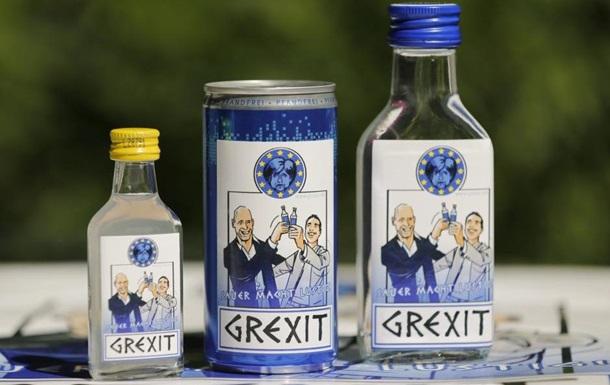 В Германии выпустили водку в честь дефолта Греции
