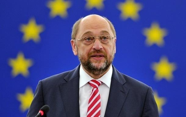 Шульц обещает сделать все возможное для безвизового режима Украины с ЕС