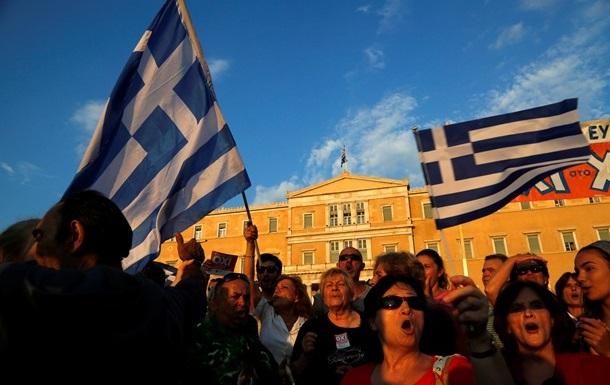 В Афинах проходят массовые демонстрации