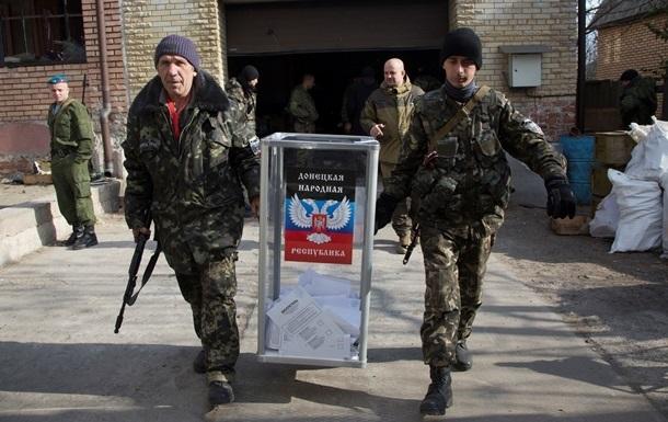 Сепаратисты намерены признать местные выборы на неподконтрольных им районах