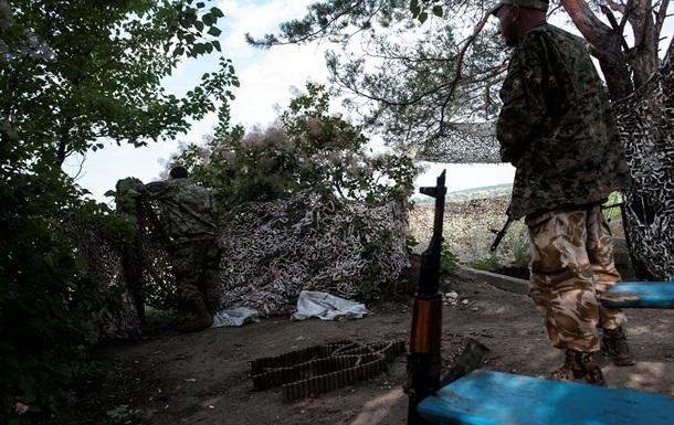 За прошедшие сутки погибли пять украинских бойцов - штаб АТО