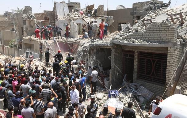 Самолет ВВС Ирака ошибочно сбросил бомбу на Багдад