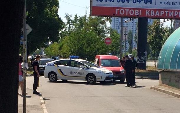 В Киеве патрульные попали в ДТП
