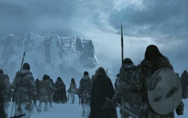 Появилось видео о создании армии белых ходоков в  Игре престолов