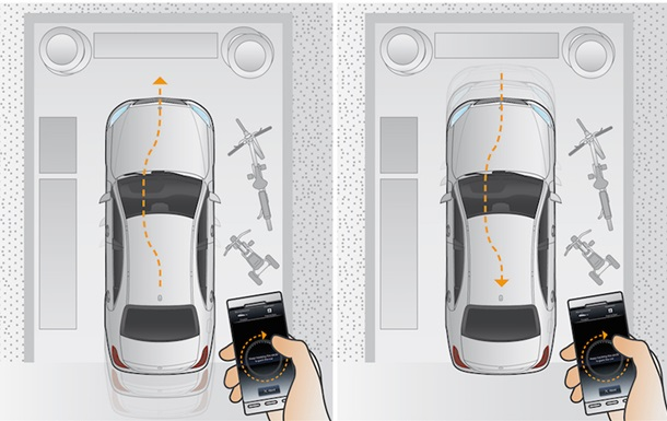 В Mercedes-Benz показали парковку с помощью смартфона нового E-Class