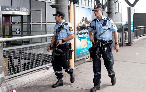 Норвежская полиция за год сделала всего два выстрела