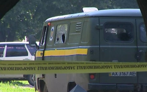 Нападение на Укрпочту в Харькове