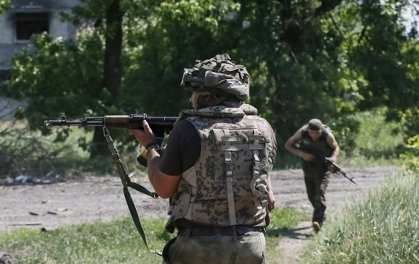 Бои у Донецка и танки за линией фронта. Карта АТО за 10 июля