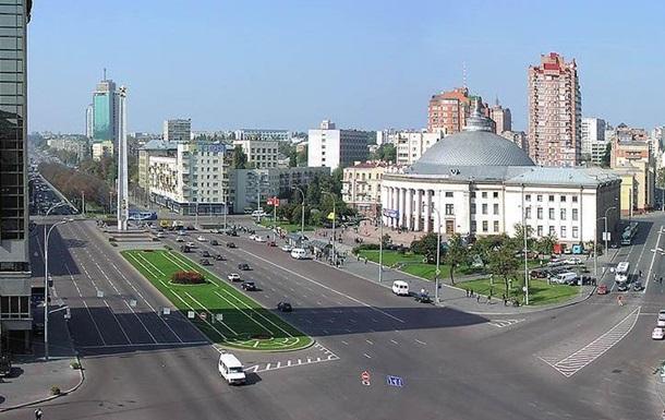 В Киеве на месяц ограничили движение на площади Победы