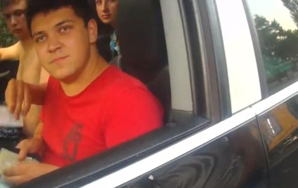 Нетрезвый водитель пытался скрыться от киевской полиции