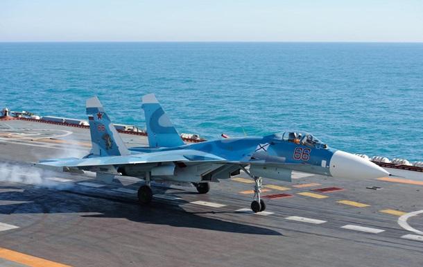 Россия перебросила в Крым три истребителя