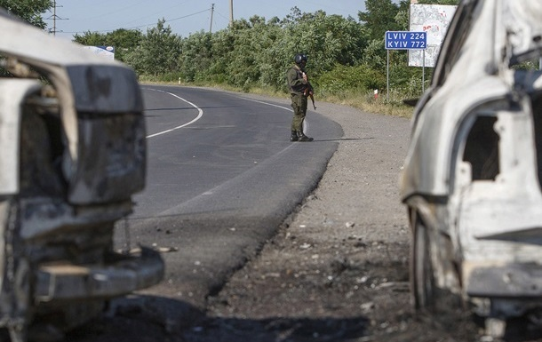 Под Мукачево бойцы Правого сектора взяли в заложники ребенка