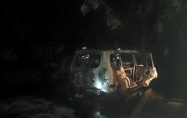 В Ужгороде ночью сгорел автомобиль прокурора - СМИ