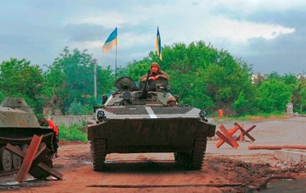 На Донбассе резко обострились бои. Карта АТО за 15 июля