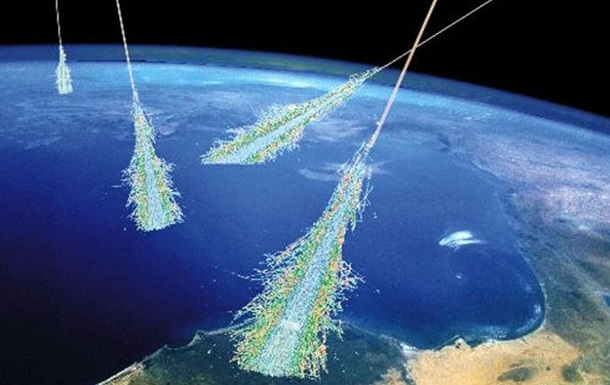 Космические лучи создают бозоны Хиггса в атмосфере Земли
