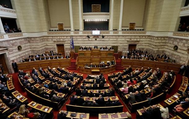 Парламент Греции одобрил необходимый для получения финпомощи законопроект