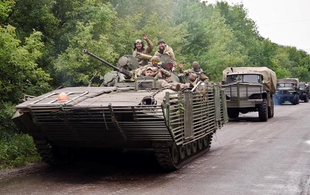 На Луганщине затишье, а вблизи Донецка бои. Карта АТО за 16 июля