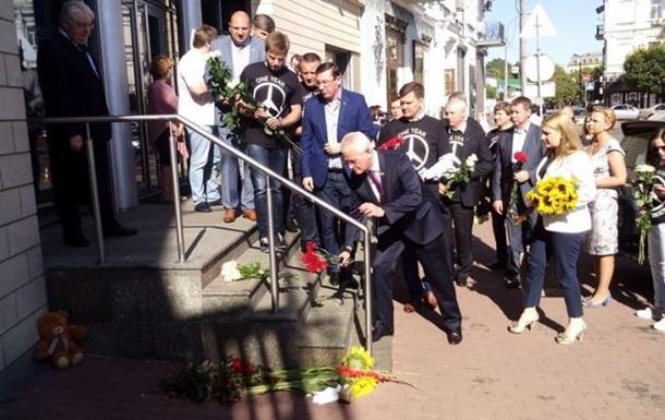 В Украине вспоминают жертв сбитого над Донбассом Боинга