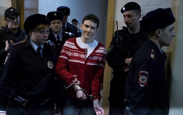 Надежду Савченко этапировали из Москвы в Ростов