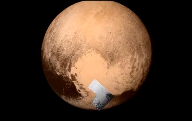 Ледяное плато на Плутоне назвали в честь первого спутника СССР