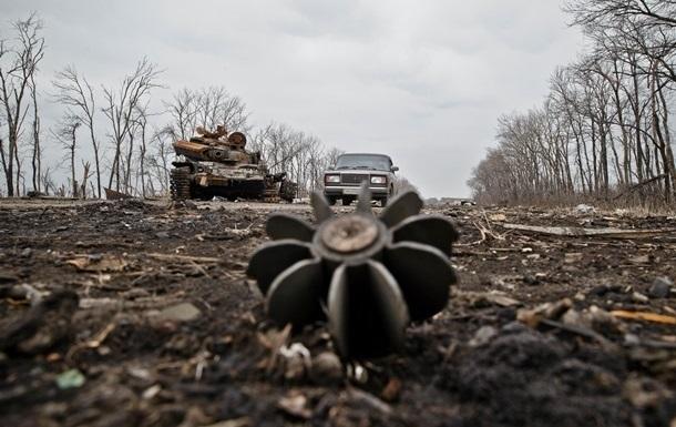 В Донецкой области обстреляли автомобиль с мирными жителями