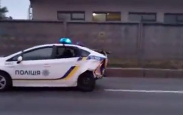 Обнародовано видео жуткого ДТП с участием полиции