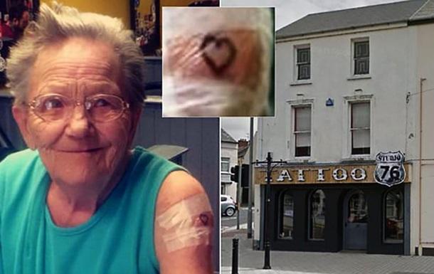 79-летняя ирландка тайком сбежала из дома престарелых ради татуировки