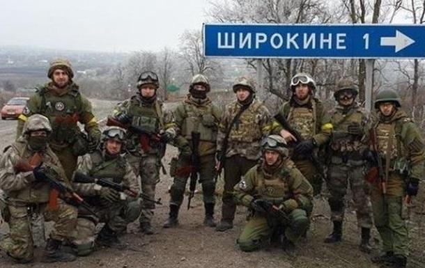 Семенченко:  Донбассу  приказали покинуть Широкино