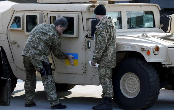 Saxon и Humvee поедут в зону АТО