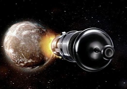 Планета Укропия и гравитационный шторм  Майдун .