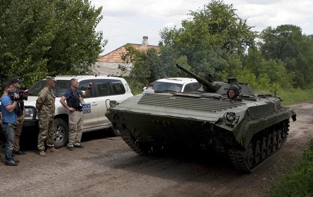 ОБСЕ подтвердило обстрел миссии под Счастьем