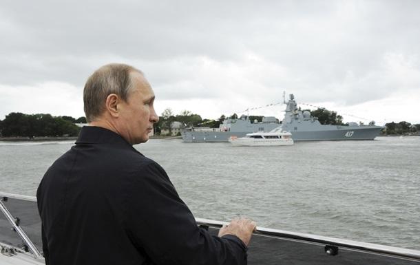 На глазах у Путина боевой корабль не смог запустить ракету