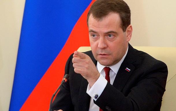Медведев: Россия – за целостность Украины, но без Крыма
