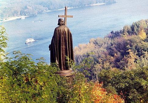 Украина отрекается от святого Владимира