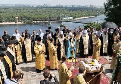 1000 летие крещения Руси Украина празднует в изоляции