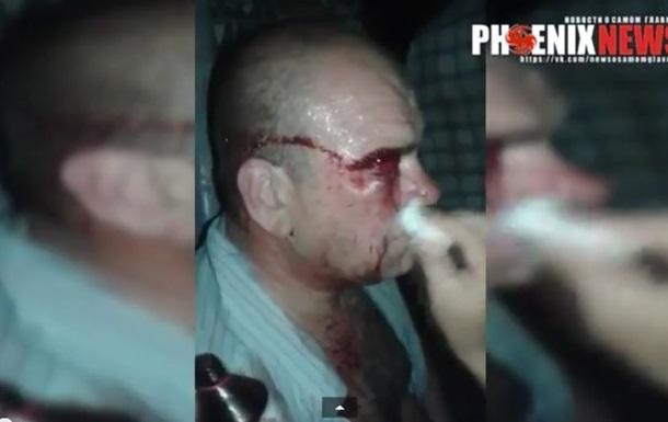 Появилось видео стычки с  Айдаром  на Днепропетровщине