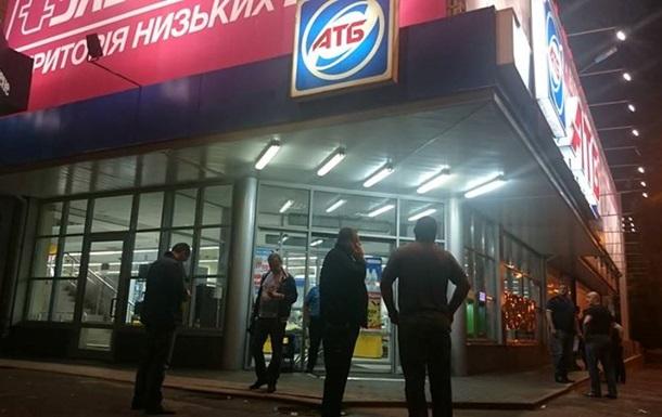 Стрельба в супермаркете Харькова