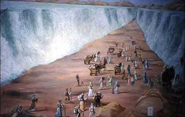 И разделиша воды их… на смерть.