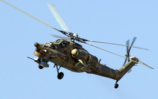 Под Рязанью разбился боевой вертолет Ми-28