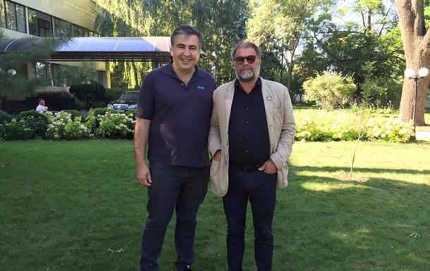 Саакашвили встретился с Борисом Гребенщиковым