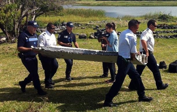 Найденная на Реюньоне  дверь самолета  оказалась обломком домашней лестницы