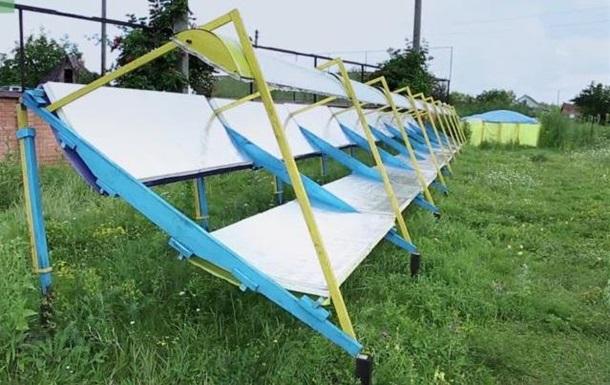 Украинский изобретатель создал дешевую солнечную станцию