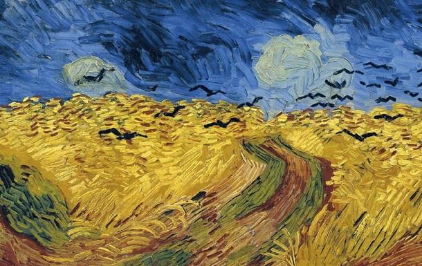 Пшеничное поле с воронами ...