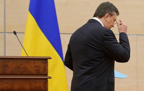 Янукович не приедет на допрос в Украину