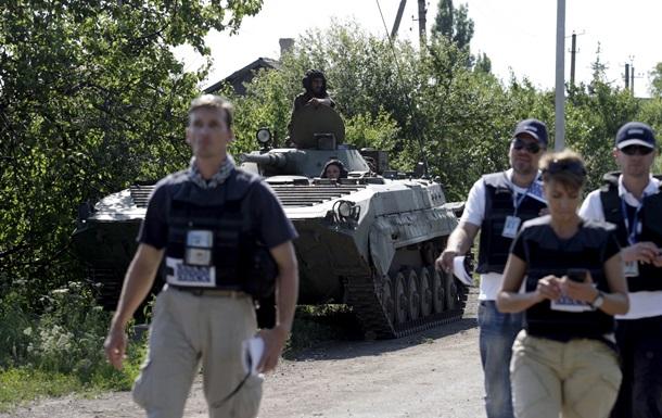 В ОБСЕ сообщили, что видели на Донбассе российских военных